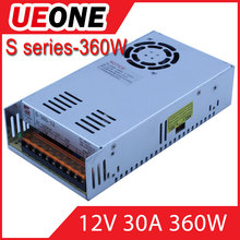 12V 30A single output switching mode power supply of S-360-12