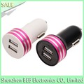 For samsung car charger for iphone 7 dual usb car charger has low price