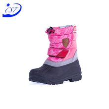 China Wholesale Market Agents Cute Winter Boot High Heel For Kids Snow Boots Waterproof
