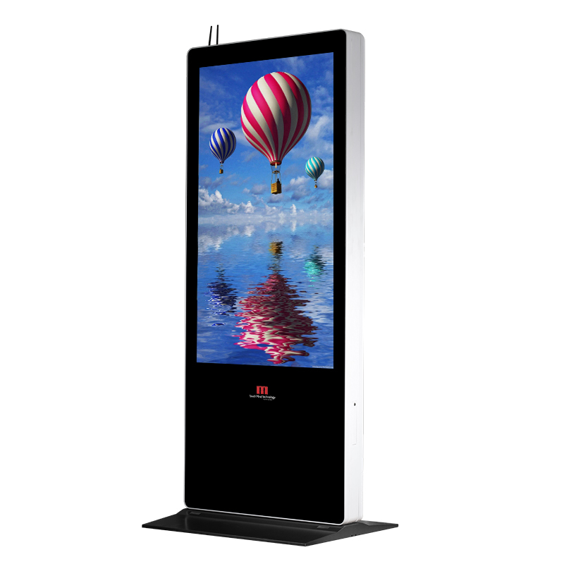 42 inch High quality shopping mall floor stand wifi LCD advertising touch screen free standing kiosk