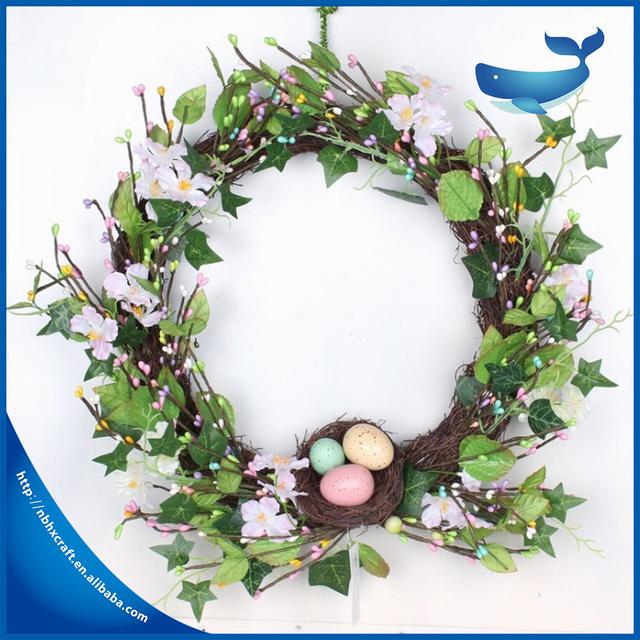 Easter Egg Garland for Easter Decoration Easter wreath