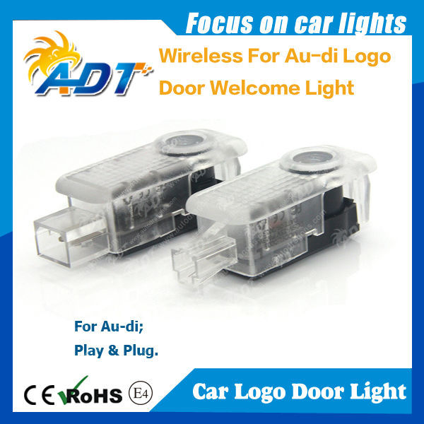 New plug and play LED logo door light for BMW for Audi for VW for Mercedes