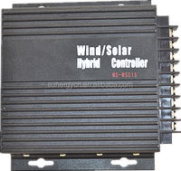 Solar panel 270W 1080W 12V 24V auto detec 15A 30A hybrid wind solar charge controller