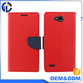 magnetic clip card slots holder flip PU+TPU cover wallet phone leather case for LG XPower 2 V7