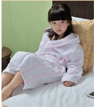 Jinhua MK home style children fleece polyester robes frozen kids dressing gown for cheap