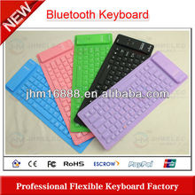 washable silicon bluetooth wirless keyboard