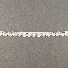 White Bridal Wedding Knitted Cord Lace Manufacturer