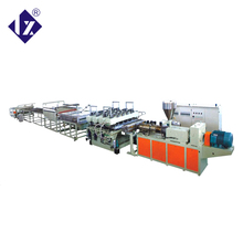 Professional polycarbonate hollow sheet extruder line pvc pp pe plastic sheet extrusion machine