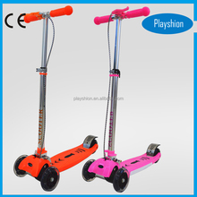 Wholesale 3 wheels kids kick folding scooter stepper scooter