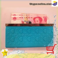 cheap silicone women wallet for promotional