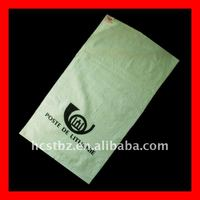 white pp woven mailing/postal/parcel packaging bag/sack for express company exported to Lithuania