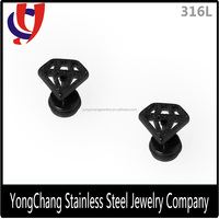 New Arrival Korean superman shield stud earring