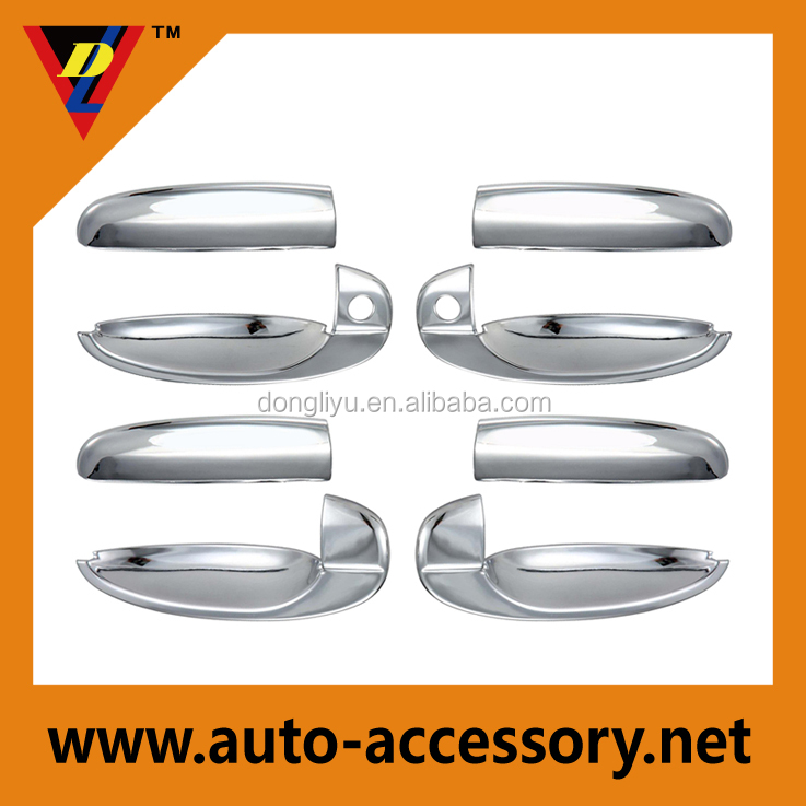 China 4drs chrome door handle cover for chevrolet aveo auto parts accessories