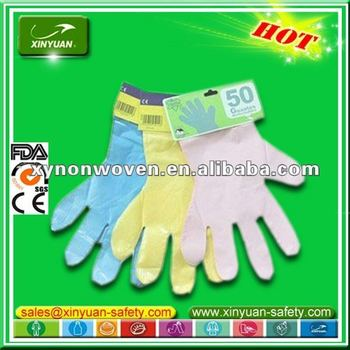 customize disposable HDPE gloves