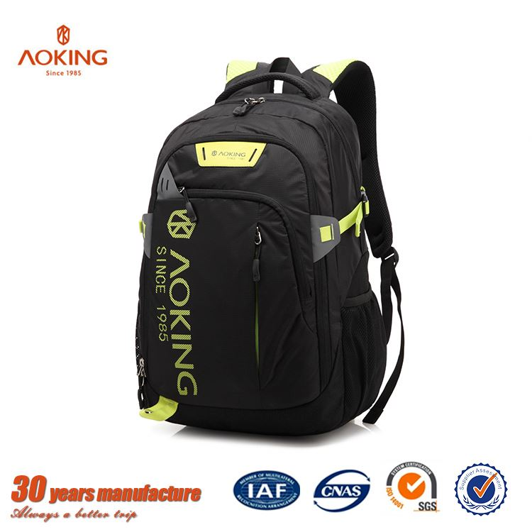 China manufacture cheap printed sport nylon school bag for girls and boys/.