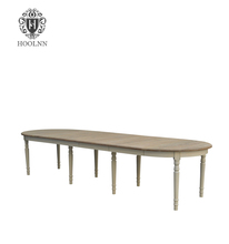 12 seater French Extendable Dining Table D1645