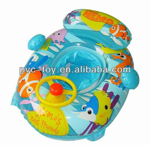 inflatable baby seat floater 70x40cm with wheel