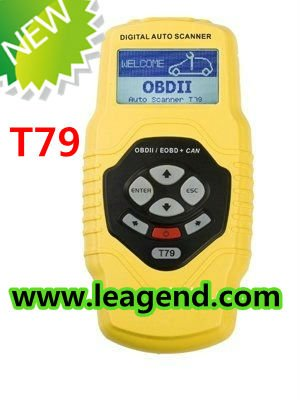 Promotion! auto code reader for OBD2 petrol and diesel car / car diagnostic equipment T79-free update , 6 languages