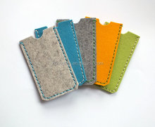 Most Popular New Style Pure Color Cellphone Felt Bag