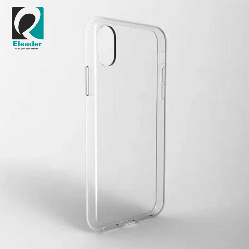 For new iphone x transparent case cover wholesale