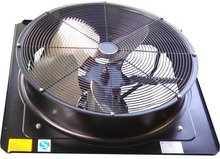AC 380V Large Electric Axial Kitchen Exhaust Fan For Ventilation central air conditioners CE/RoHS Silent and Low price