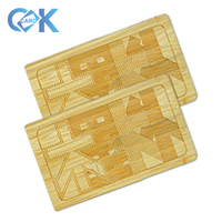 High Quality Custom/Unique Cool Design Handmade Carving Printing Wooden Card for Christmas Gift