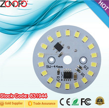9w 3w 5w 7w 12w 15w driver and LED together 220v input voltage mos dimming smd2835 led bulb zonopo ac light