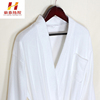 Wholesale beautiful fiber bathrobe embroidered gown with plush polyester bathrobe.