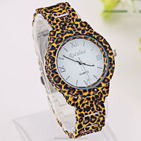 2015 Leopard design hot custom digital watch