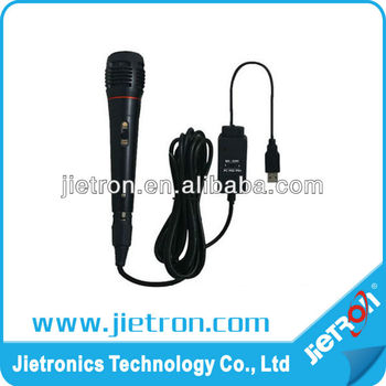 5 in 1 Wireless Microphone for PS2/PS3/Wii/XBOX360/PC (JT-0110101)