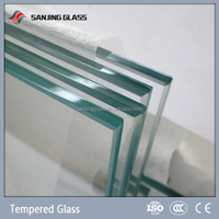 Tempered glass weight