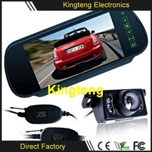 Car Rearview Camera System Wireless, 2.4G Transmitter Receiver Type Backup Car Camera System Wireless