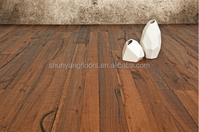 Aged oiled Oak engineered wood flooring20161103