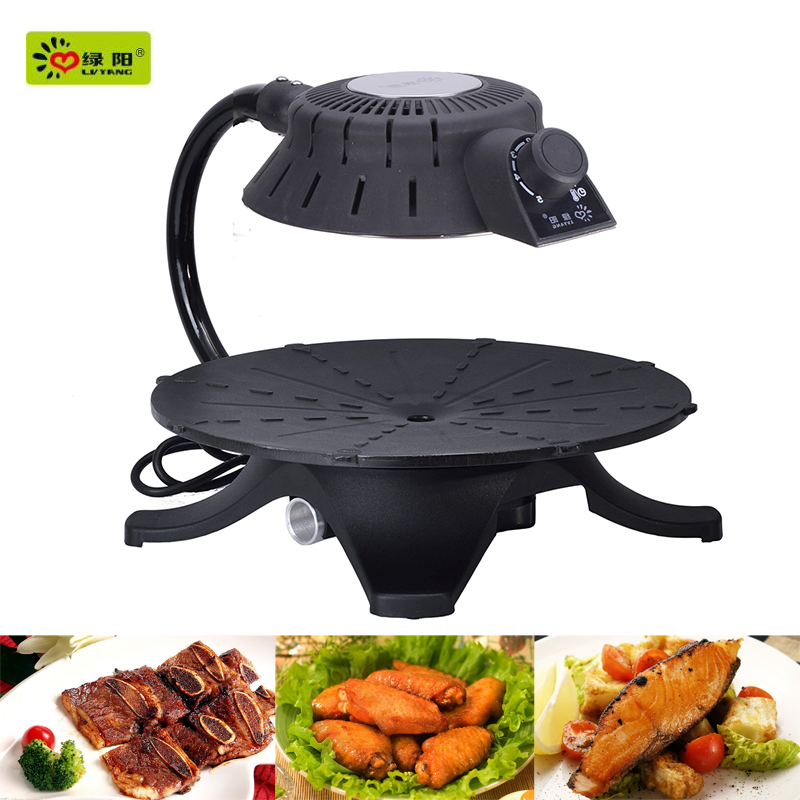 2015 smokeless infrared indoor electric portable with automatic bbq barbecue grill