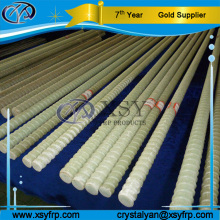 Cheap FRP Rebar / GFRP Rebar / Fiberglass Rebar With Tensile Strength Test