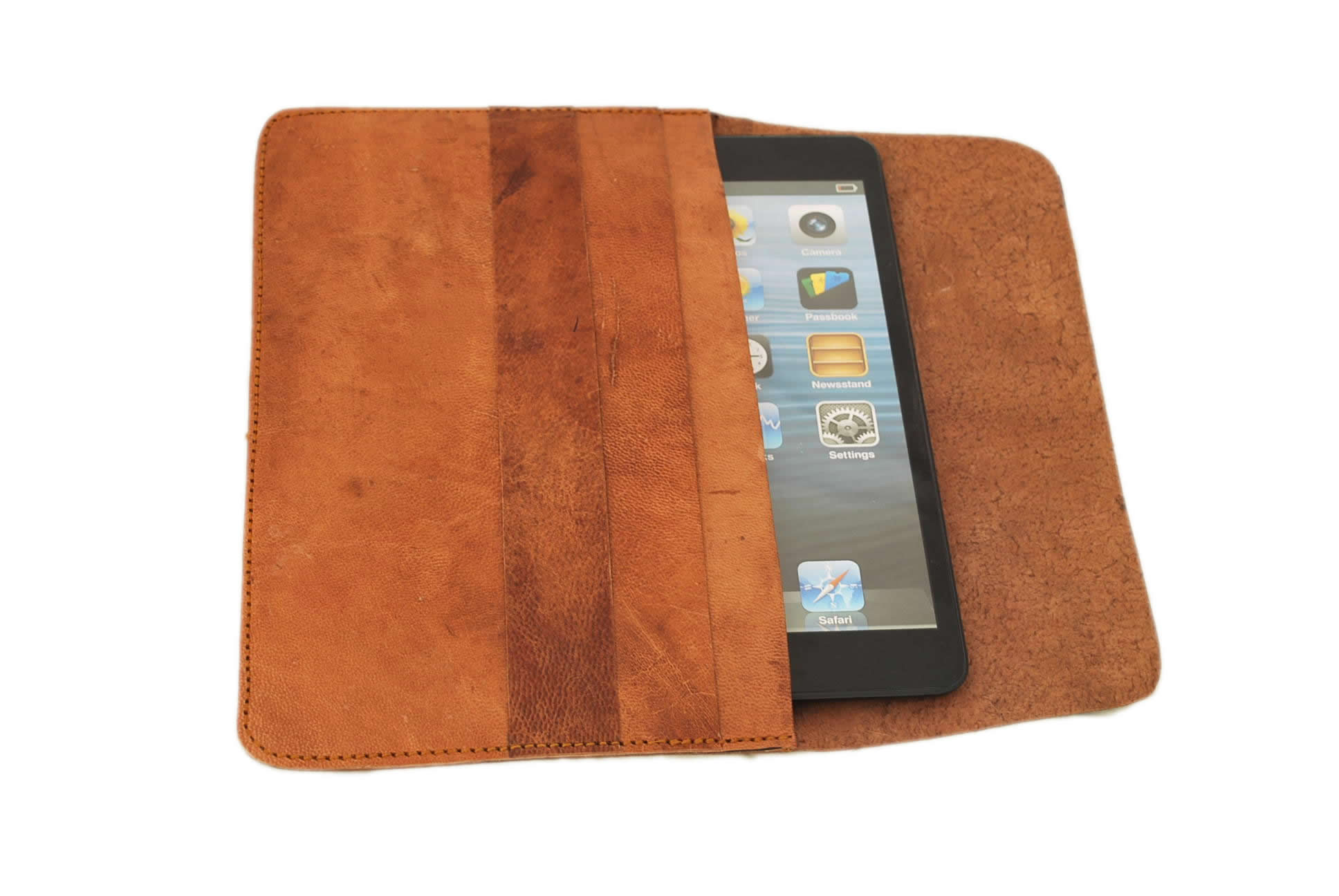 tablet leather case 6 inch, 12 inch, 13 inch genuine and soft leather