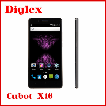 original CUBOT X16 mobile phone 4G LTE Android 5.1 16MP MTK6735 1.3GHz Quad Core 5.0 Inch IPS 1080P 2GB RAM 16GB ROM Smartphone