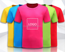 Wholesale Fashion Customized DIY T/C Material Short Sleeve Round Neck Custom Printed T Shirts