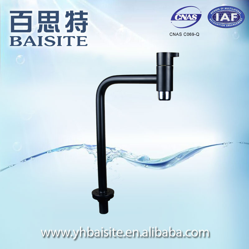 China manufacturers plastic polished abs tap single level kitchen sink faucet