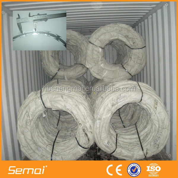 high safety Low Price razor barbed military wire mesh fence(ISO)