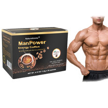 3 in 1 Private Label Power Coffee for Enhance Men Health
