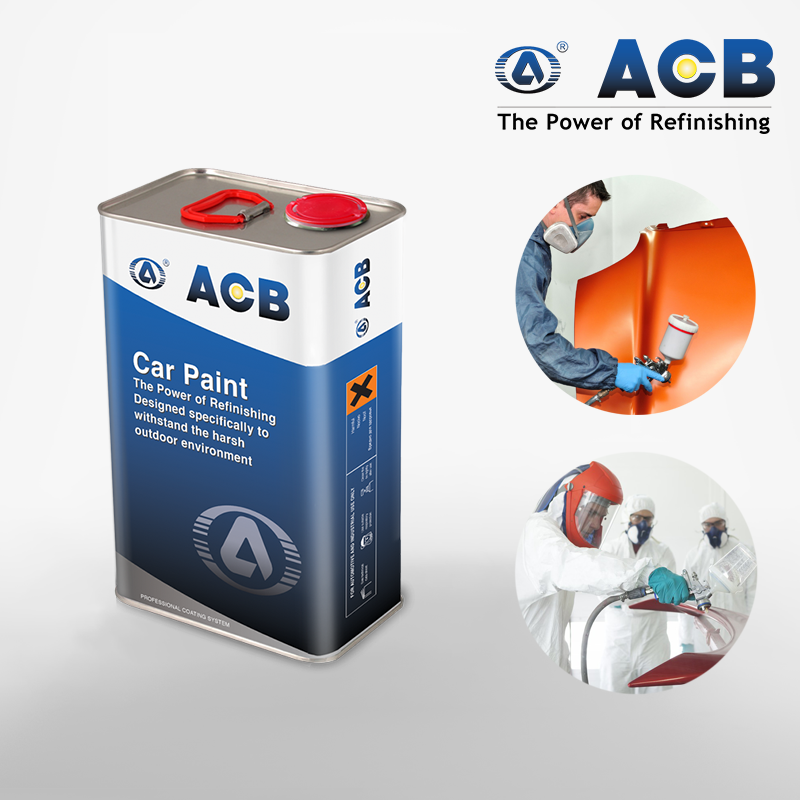 ACB auto coating car paint restoration 2k clearcoat