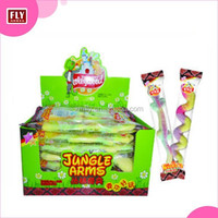 Individual packaged giant snake shaped halal gummy sweets
