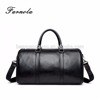2017 convenient leisure fashion genuine leather men's travel bag luggage bag