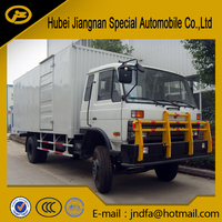 dongfeng container van 10Ton 12Ton 15Ton box van truck transport truck container van truck boxer truck in stock for sale