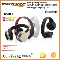 4 in 1 Colorful bluetooth headset with built in mp3 player and FM radio
