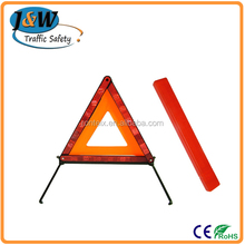 Long Distance Visibility Warning Reflective Triangle / Car Safety Reflective Triangle