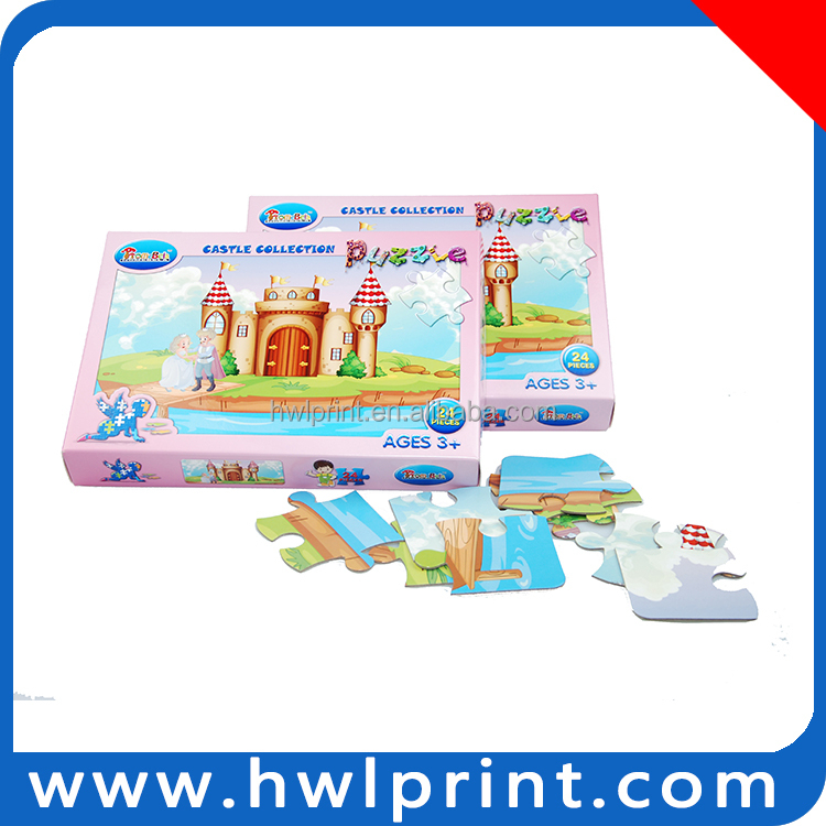 paper intelligent toy printing hardboard baby toys