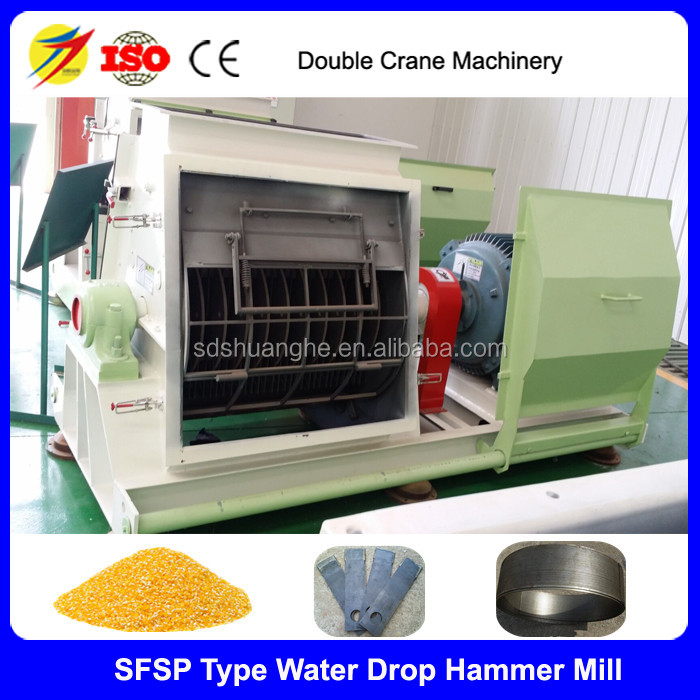 SFSP56*40 3TPH animal feed hammer mill machine price made in china