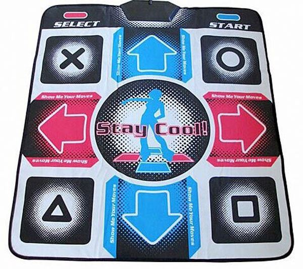 TV PC Tiwn Player Wireless 32 Bit Dancing Mat With TV Game Controller